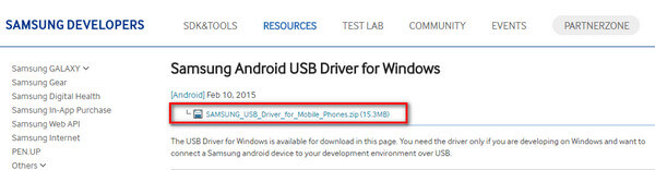 Download USB driver for Samsung Galaxy Note7 for Windows | KingoRoot